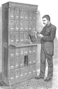 1886 File Cabinet