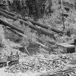 A 19th century mine