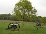 Cannons from the Wilson's Creek Battlefield
