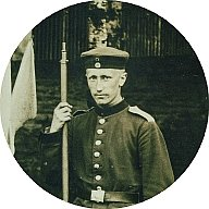 German WWI soldier, Dieter Finzen