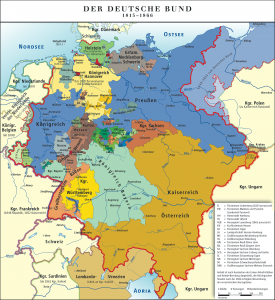 The German Confederation 1815-1866