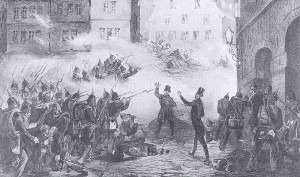 Dresden Uprising in 1848