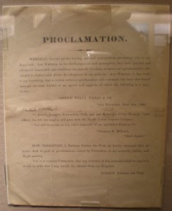Proclamation by Emperor Norton I