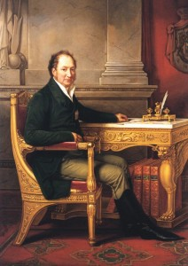 King Maximilian I Joseph at his desk