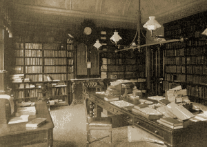Nineteenth-century library