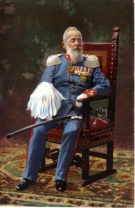 Prince Luitpold on his 90th birthday in 1911
