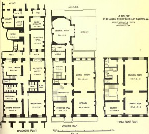 Houses In Fin De Si Cle Britain Floor Plans And The