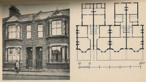 Terraced House with Floor Plan